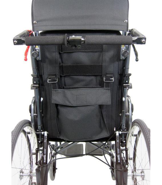 zero gravity recliner chair reviews toddler bed karman mvp-502-ms reclining transport wheelchair