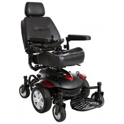 Drive Medical Transport Chair World Market Furniture Dining Chairs Titan Axs Mid-wheel Power