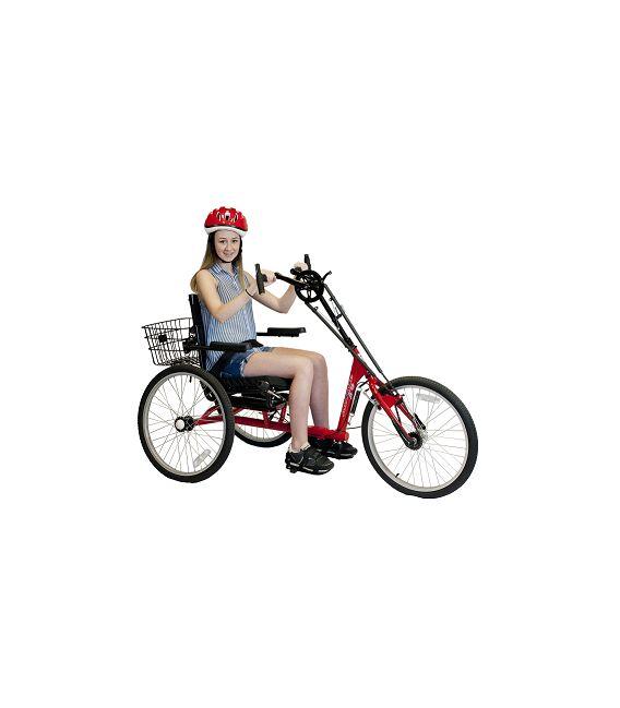 Amtryke Hand Tryke 1024 3-Speed, Wheelchair Seating