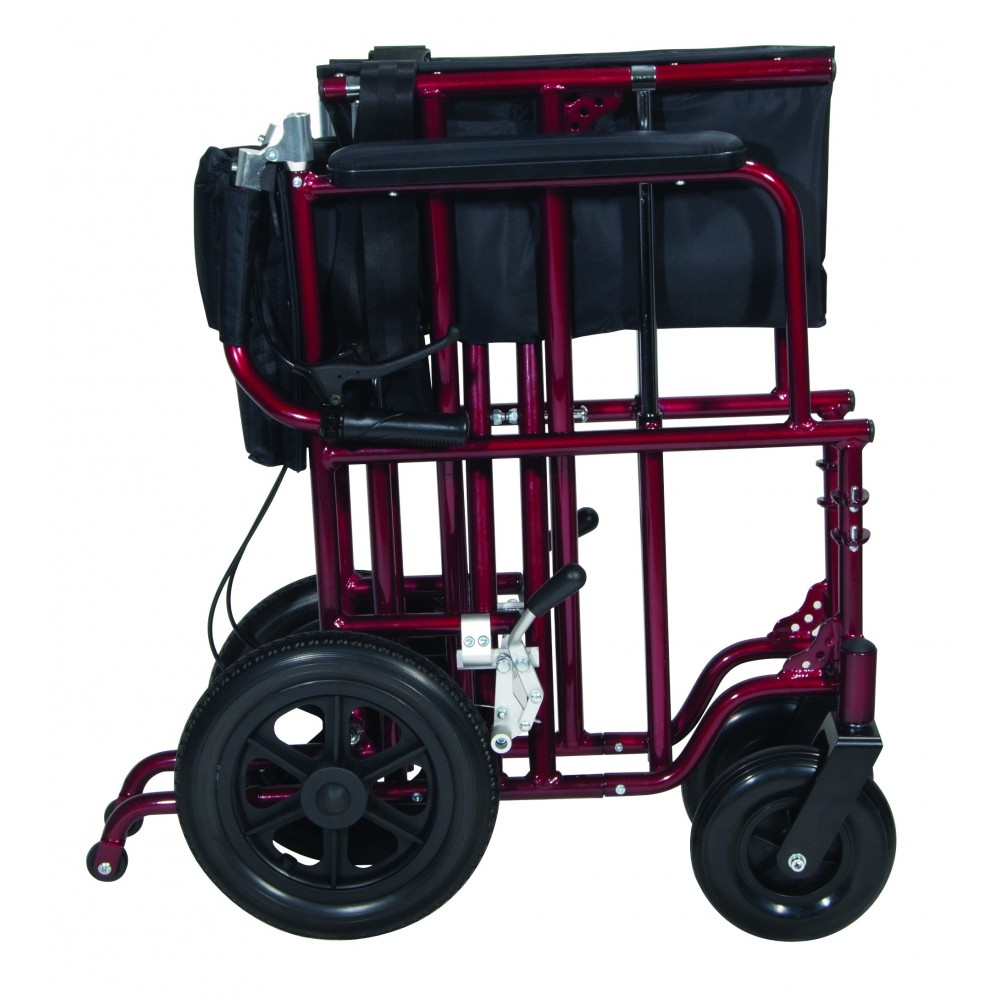 padded zero gravity chair england and a half glider drive bariatric aluminum transport 22