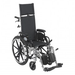 Drive Medical Transport Chair Camp Chairs For Heavy People Pediatric Viper Plus Reclining Wheelchair