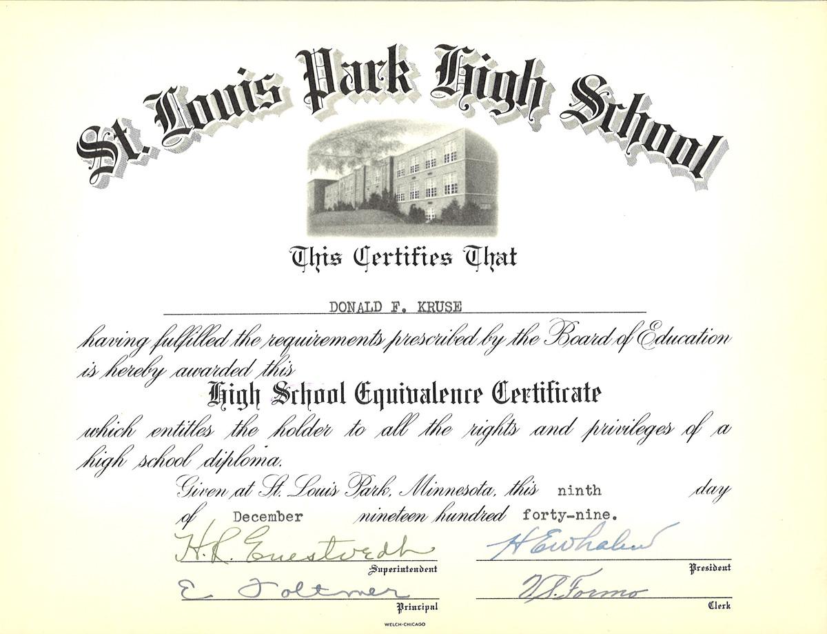 Diploma Ged Or Diploma