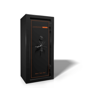 AR-20 Black Smoke Safe with Orange Trim