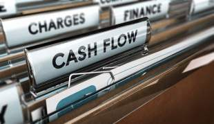 company cash flow statements folder