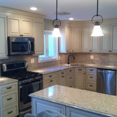 Kitchen Cabinets Long Island Undermount Sink Renovation  Home