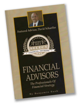 David P. Schaeffer is honored in Americas Select Financial Advisors