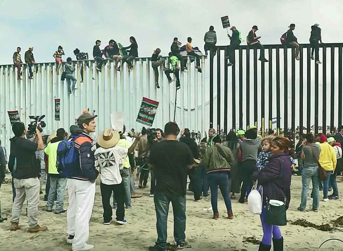 Showdown at Border: US Officials say Border Crossing is Full (Multi-Video) - American Security Today