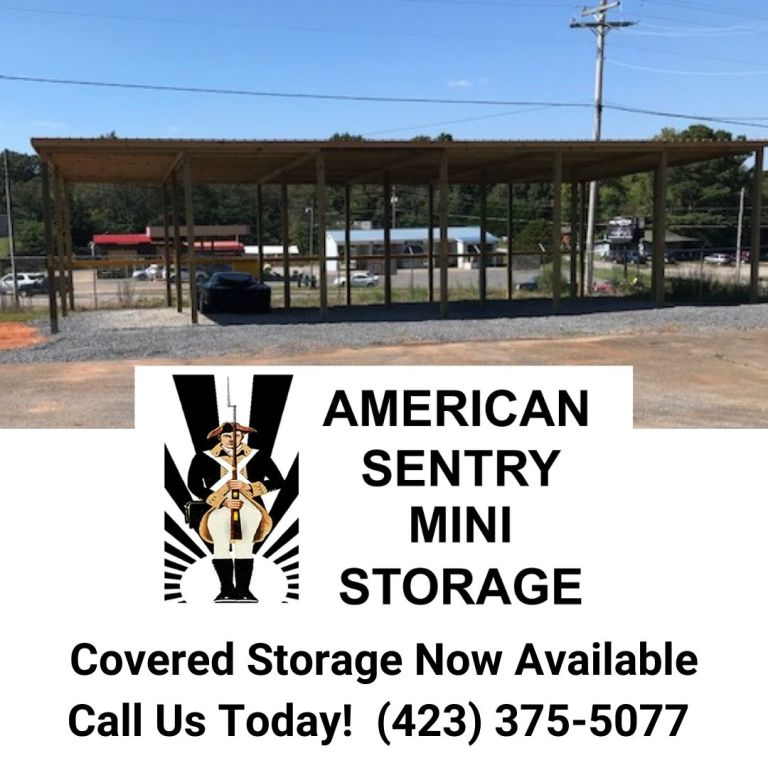 Covered RV and Boat Storage