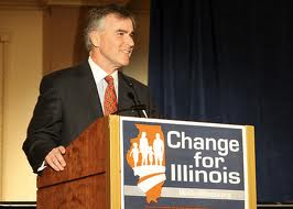 "Who knew that when Illinois Republican Party Chairman Pat Brady called for ""Change in Illinois,"" he was referring to legalizing oxymoronic homosexual ""marriage""?"