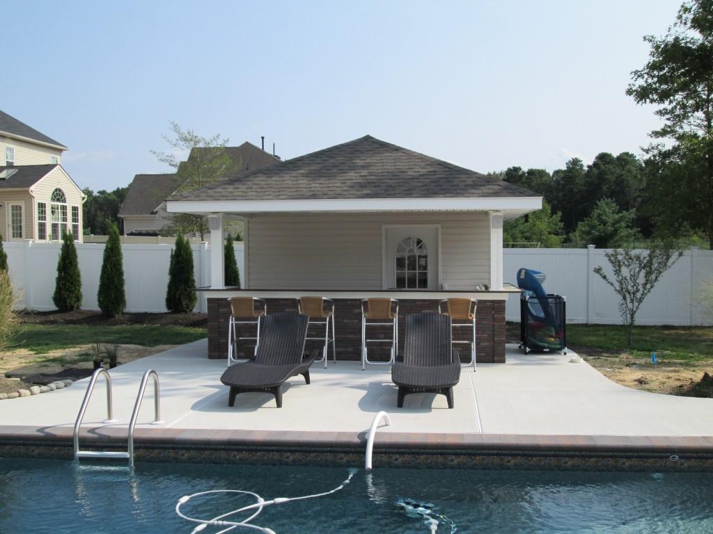 Tiki Bars  Pool Houses  American Sheds
