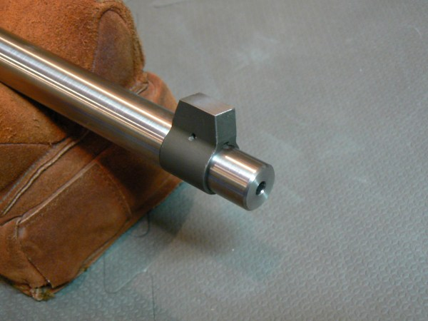 The process of single-point cut rifling is the most stress-free way to rifle a barrel. The twist is exact.