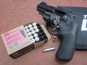The author tested the LCRx with .38 Special loads from Hornady.