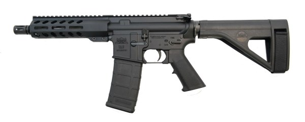 "PSA 7.5"" Barrel, 5.56, M-LOK, Classic SoB AR Pistol"