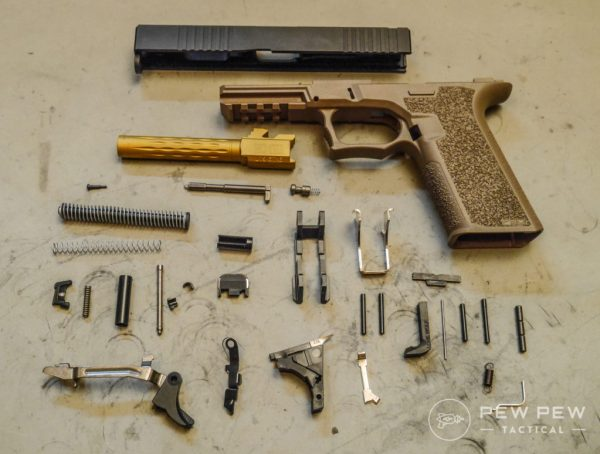 Complete Polymer80 Parts