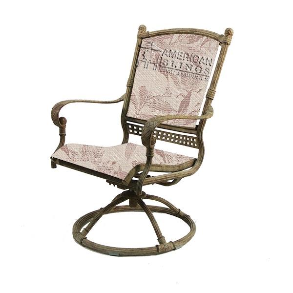chair top and bottom rods slings hampton bay