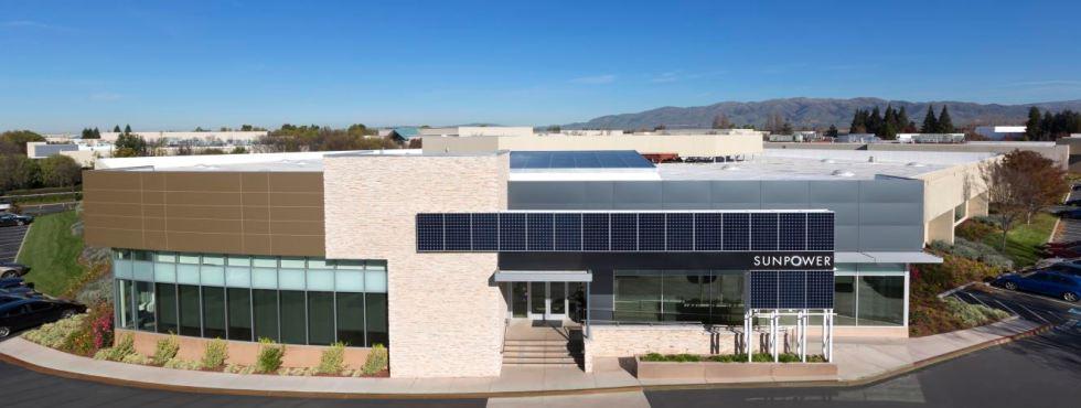 SunPower Corp. headquarters in San Jose, CA on December 12, 2012, SUNPOWER Elite Dealer, SUNPOWER