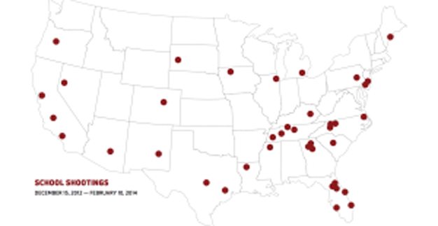 New Analysis Breaks Down 44 School Shootings Since Sandy