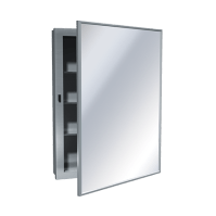 Medicine Cabinet  Surface Mounted, Stainless Steel