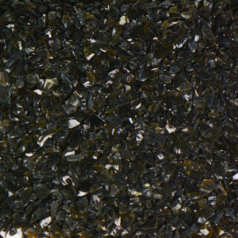 Black Size 0 Terrazzo Glass  Terrazzo Glass  Terrazzo