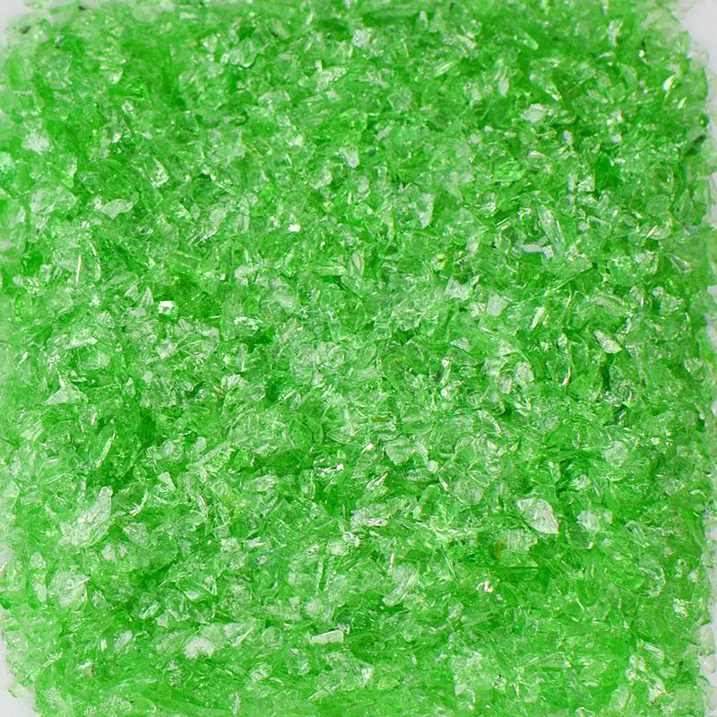 Light Green Size 0 Terrazzo Glass  Terrazzo Glass  Terrazzo