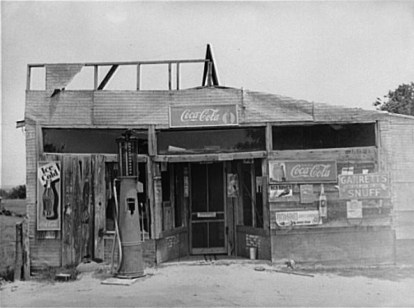 Country Store Wagoner County, Oklahoma. June, 1939. Photo by Russell Lee.