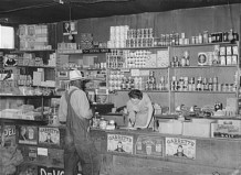 Interior of Country Store Wagoner County, Oklahoma. June, 1939 Photo by Russell Lee