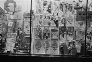 Drugstore Window, Washington, DC. January, 1938. Photo by Russell Lee.