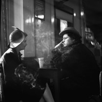 Women Gossiping in a Drugstore over Cokes. March, 1943. Photo by Esther Bubley.