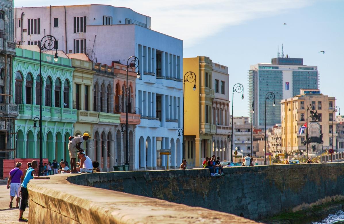 Havana's Malecon, Cuba