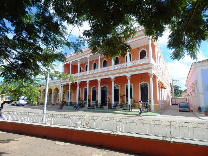 Plaza of Remedios, in Villa Clar, Cuba