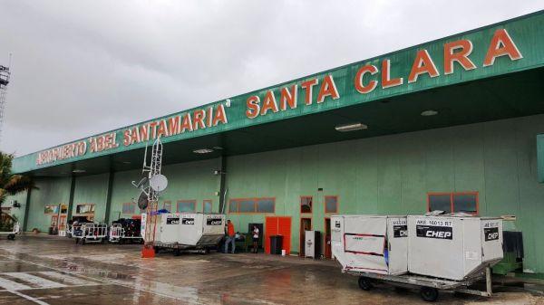 Santa Clara, Cuba airport tarmac