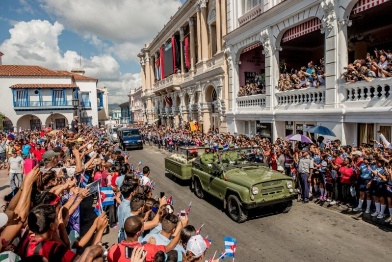 Images of Fidel Castro Funeral
