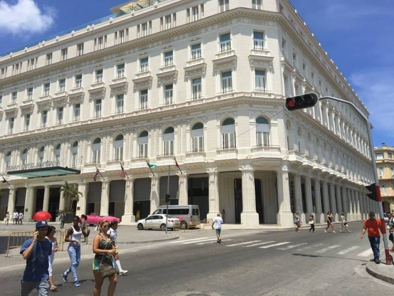 changes to Cuba travel rules effect Gran Hotel Manzana Kempinski in Havana