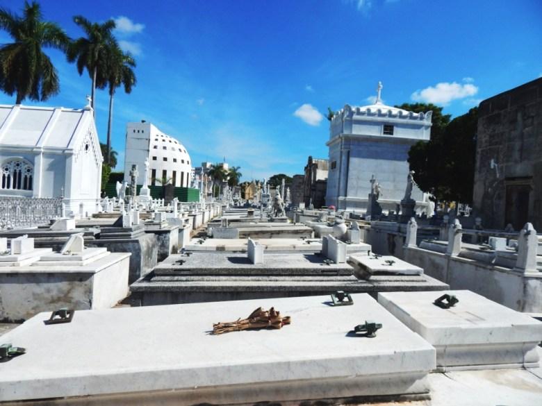 Colon Cemetery, Havana, has thousands of gravesites