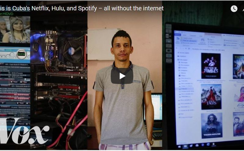 Cuba's Foot Powered Internet