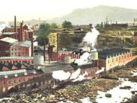 The industrial complex Alexander Hamilton began in Paterson, NJ in 1791.