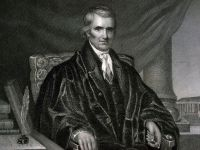 Chief Justice John Marshall was appointed in May 1800.