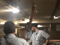 The fragility of the transit system in the New York-New Jersey area was dramatized when a beam penetrated the roof of  a New Jersey Transit train Sept. 7.