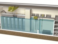 Cross-section of NuScale small modular reactor (world nuclear news)