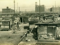 """Hooverville"" in 1930s Seattle, one of the largest in the country."