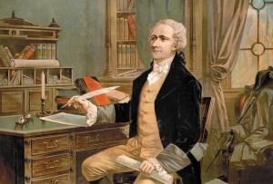 A Hamilton painting