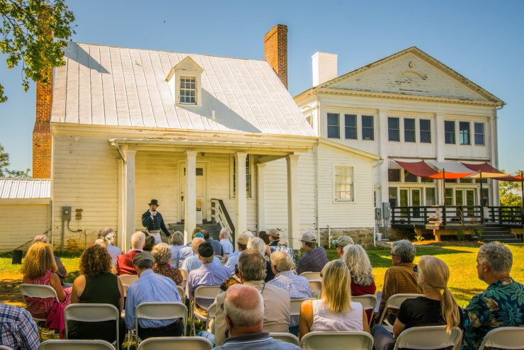 A Rare Visit to John Marshall's Boyhood Homes