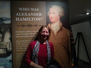 Hamilton Celebrated at the Grange