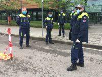 Civil Defense Volunteers in Vimercate, Italy