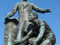 The Freedman's Memorial in D.C.'s Lincoln Park.