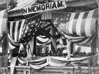 A photograph of the First Decoration Day, May 30, 1868.
