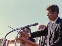 President Kennedy activating Hanford civilian reactor in September 1963.