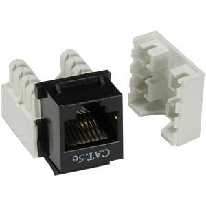 tech cat5e jack wiring diagram 2002 chevy silverado radio cat 5e inserts- jacks- keystone icc 6 patch cords- ...
