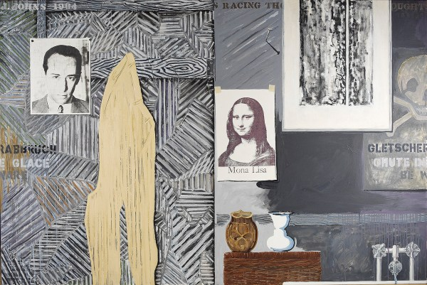 Jasper Johns Racing Thoughts