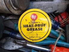 heat-pruf grease in tool bag close jim sergovic